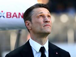 Frankfurts Trainer Nico Kovac ist ein Mann der klaren Worte. Foto: Arne Dedert