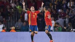 Paco Alcácer und Thiago sind in Spaniens Nationalmannschaft berufen worden