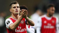 Granit Xhaka ist der neue Kapitän des FC Arsenal