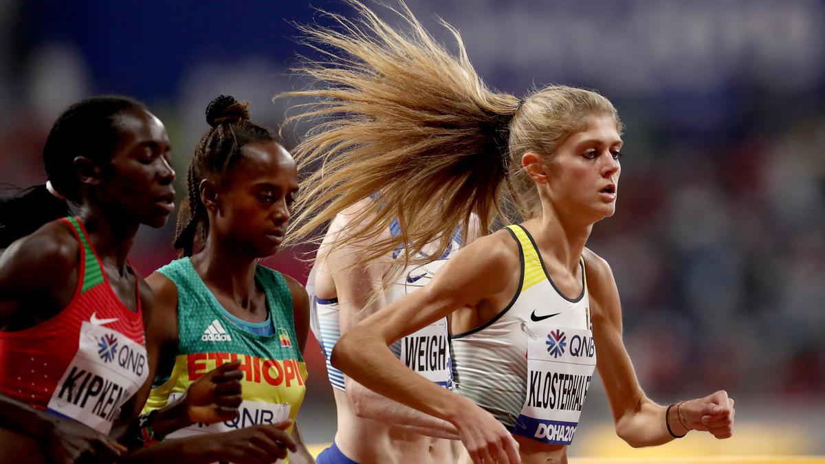 Konstanze Klosterhalfen gewann die vierte deutsche Medaille bei der Leichtathletik-WM