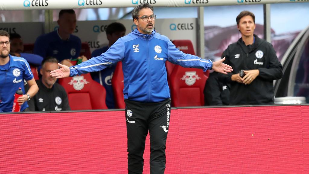 David Wagner und der FC Schalke haben die Tabellenführung verpasst