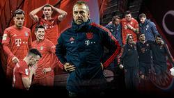Hansi Flick ist Interimstrainer beim FC Bayern