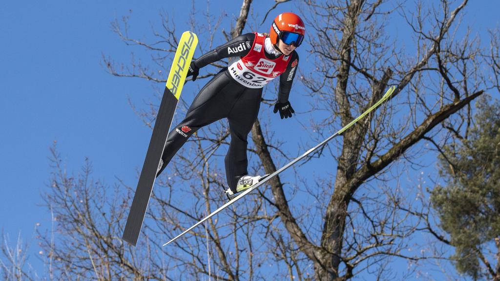 Katharina Althaus sicherte sich in Hinzenbach den fünften Platz