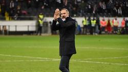 Spricht über Boykott der Fans von Eintracht Frankfurt: Adi Hütter