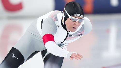 Claudia Pechstein wurde bei der WM über die 5000-Meter-Distanz Zehnte
