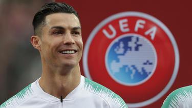 Starfußballer Cristiano Ronaldo