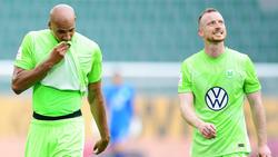 Sauer auf den BVB: Maxi Arnold (r.)