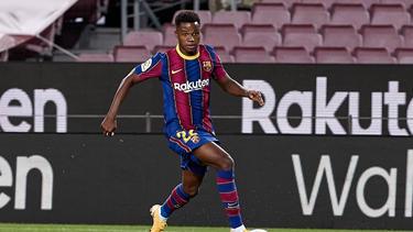 Steht beim FC Barcelona unter Vertrag: Wunderkind Ansu Fati