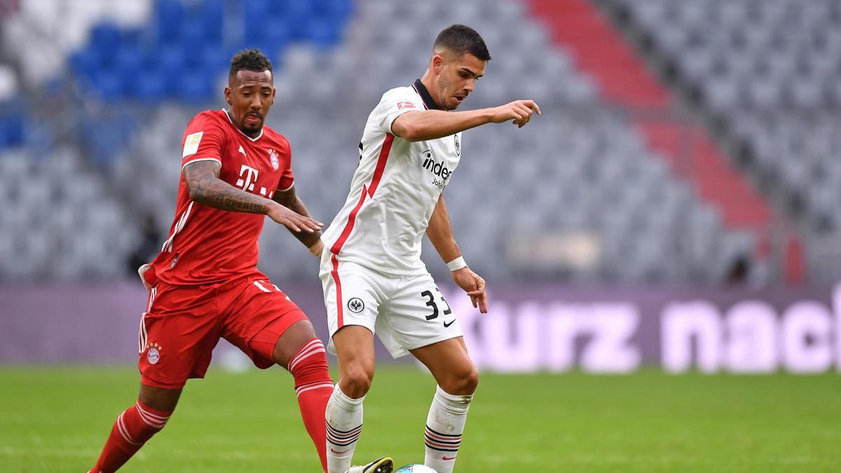 André Silva von Eintracht Frankfurt schwärmte vom FC Bayern