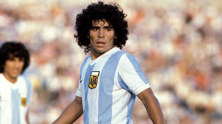 Maradona ist einer der Größten des Weltfußballs