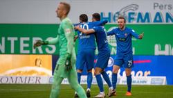 Heidenheim gewann überraschend in Fürth