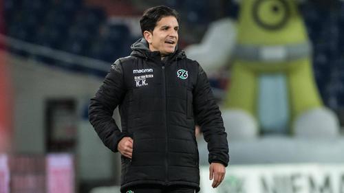 Kenan Kocak will mit Hannover 96 ins Achtelfinale