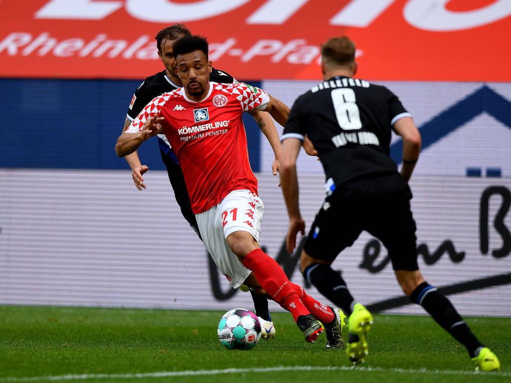 Karim Onisiwo erzielte gegen Köln sein drittes Saisontor