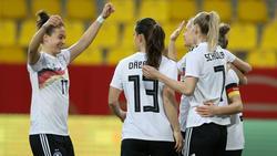 Die DFB-Frauen starten in Cottbus und Chemnitz