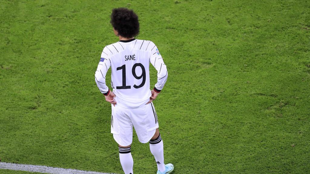 Leroy Sané kann beim FC Bayern und im DFB-Team nicht immer überzeugen