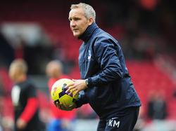 Chrystal-Palace-Interimstrainer Keith Millen wird auch bei der Partie gegen West Bromwich auf der Trainerbank sitzen