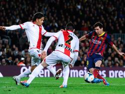 Messi erzielt seinen 228. Ligatreffer