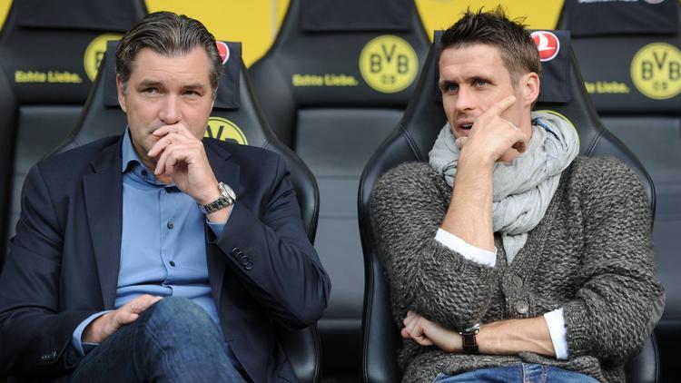 Klaren Ansagen beim BVB: Michael Zorc (l.) und Sebastian Kehl