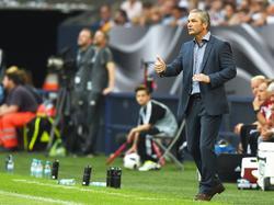 Bernd Storkc war mit dem Auftritt seiner Mannschaft zufrieden