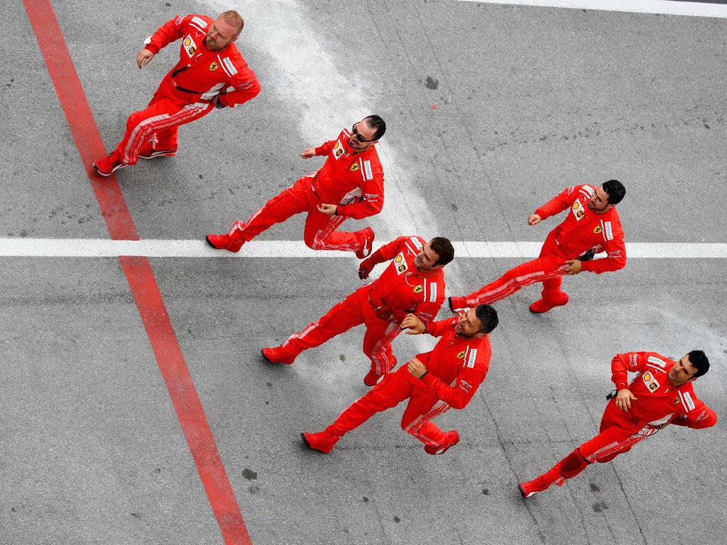Das Team von Ferrari ist schon ganz gespannt auf den Frankreich-GP