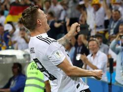 El jugador del Real Madrid se sacó un tiro magistral. (Foto: Getty)
