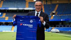 Maurizio Sarri freut sich auf seine Zeit bei Chelsea