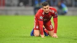 Robert Lewandowski hat in dieser Saison bereits zehn Tore für den FC Bayern erzielt