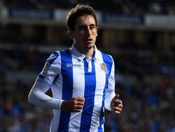Mikel Oyarzabal abrió el marcador con una jugada de pícaro. (Foto: Getty)