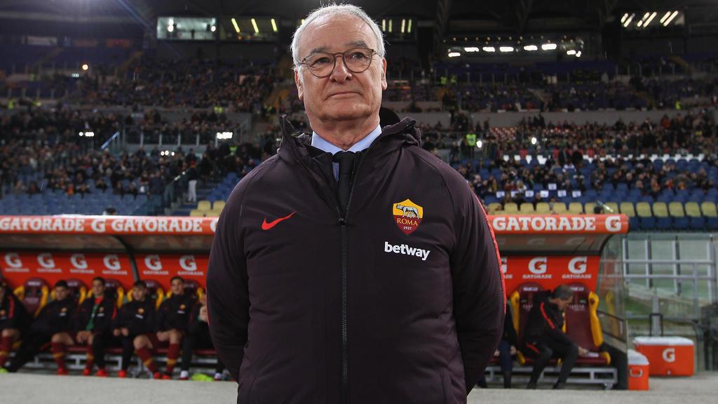 Claudio Ranieri feiert mit AS Rom bei seinem Comeback einen 2:1-Sieg über den FC Empoli