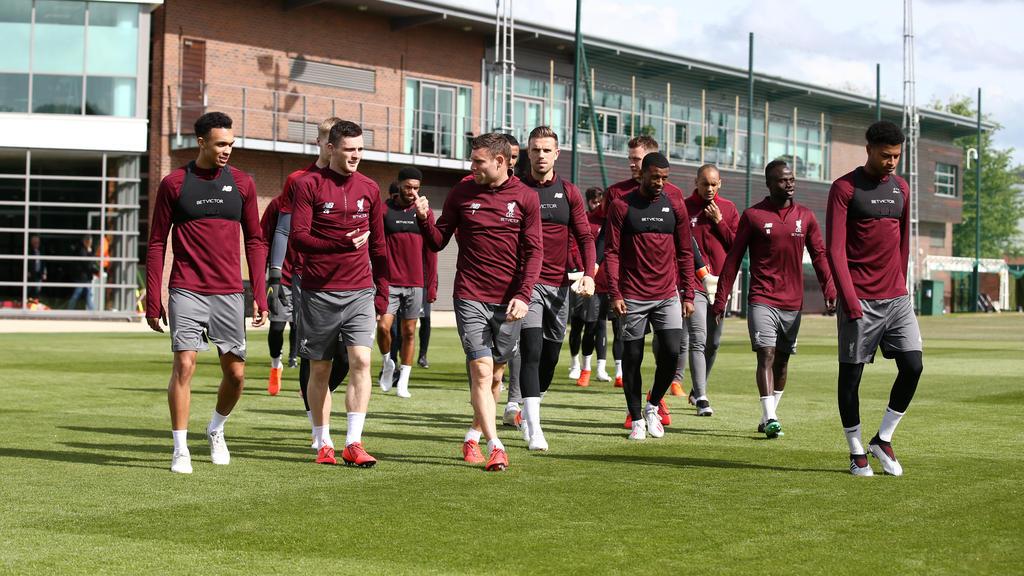 Der FC Liverpool bereitet sich auf das Duell mit Tottenham vor