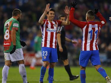 Atlético steht in der nächsten Pokalrunde