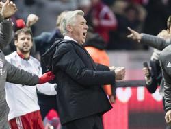 Carlo Ancelotti geriet mit Berliner Anhängern aneinander