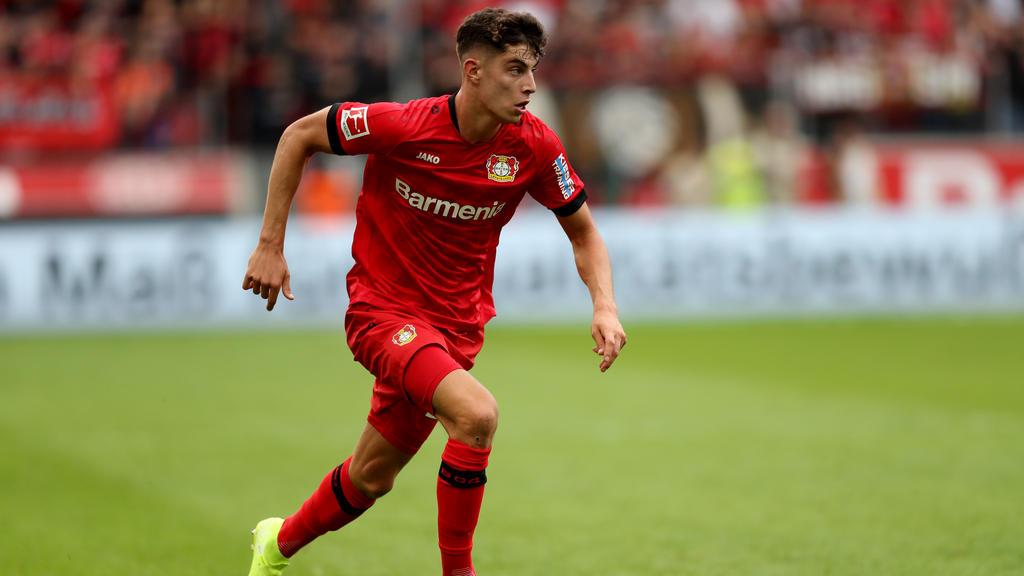 Kai Havertz soll das Interesse des FC Bayern geweckt haben