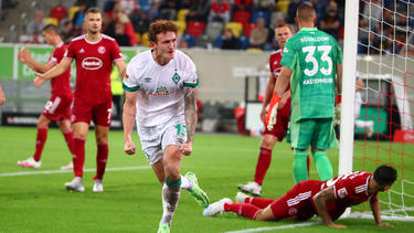 Werder siegt dank Sargent und etwas Glück in der Schlussphase