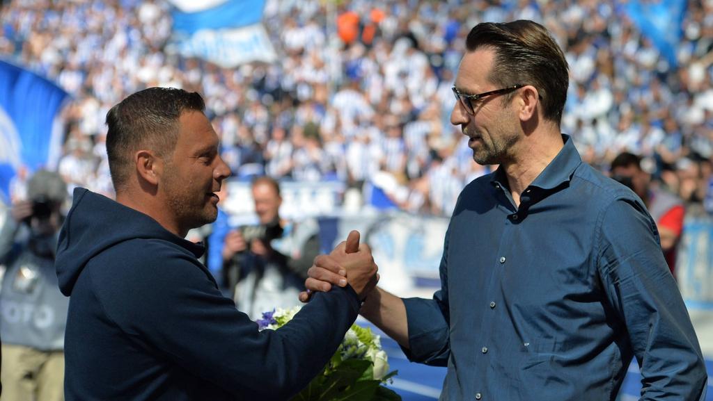 Pál Dárdai und Michael Preetz arbeiten in Zukunft wieder beim selben Klub