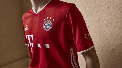Das neue Heimtrikot des FC Bayern