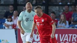 Ivica Olic trägt auch nach seinem Karriereende gerne das Trikot des FC Bayern