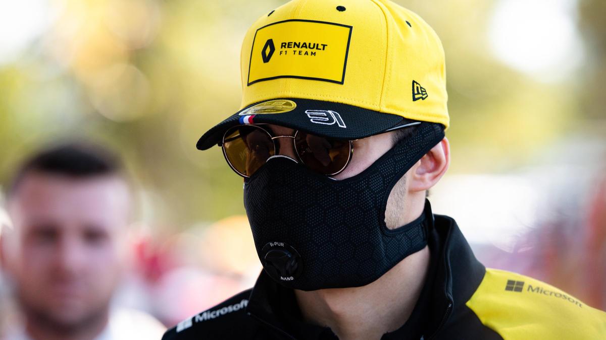In Australien hoffte Esteban Ocon, trotz Corona die Saison zu starten - vergebens