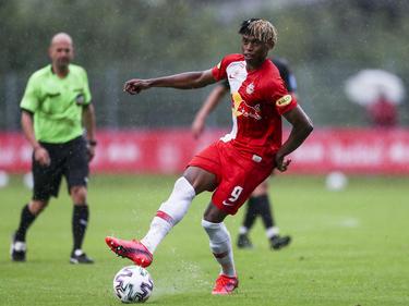 Traf gegen Lyon im Triplepack: Salzburg-Stürmer Chikwubuike Adamu