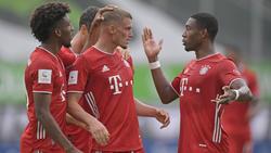 Mickael Cuisance (M.) wird den FC Bayern verlassen