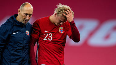 Erling Haaland ist mit dem norwegischen Nationalteam auf Reisen