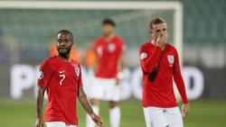 Raheem Sterling und Jordan Henderson fehlen den Three Lions gegen Island