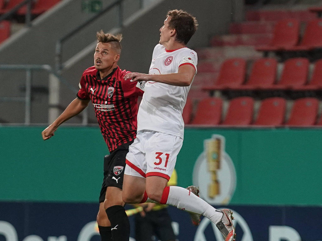 Ein Kurzeinsatz im DFB-Pokal war für Thorsten Röcher (li.) bisher das höchste der Gefühle