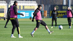 Manuel Akanji (li.) und Raphael Guerreiro fehlen dem BVB in Frankfurt