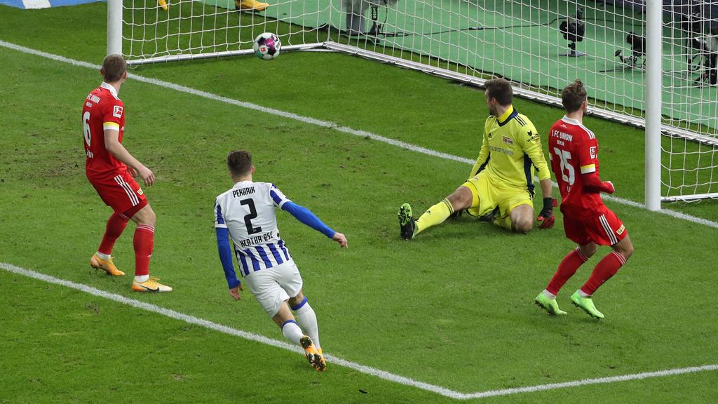 Hertha BSC hat das Derby gegen Union Berlin gewonnen