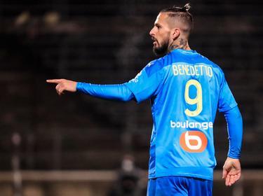 Benedetto abrió el marcador tras el descanso.