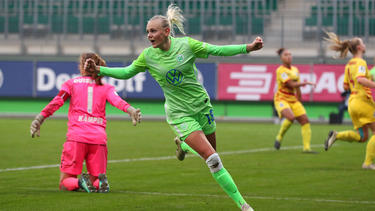 Der VfL Wolfsburg drehte die Partie gegen den MSV Duisburg