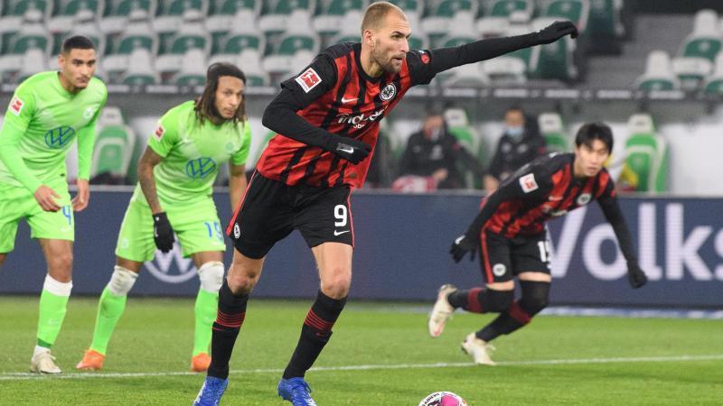 Frankfurts Bas Dost steht vor einem Wechsel zum FC Brügge