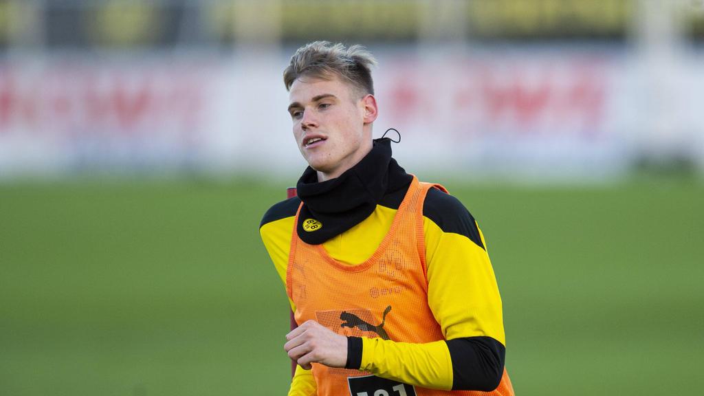 Steffen Tigges wurde von Edin Terzic zu den Profis des BVB beordert