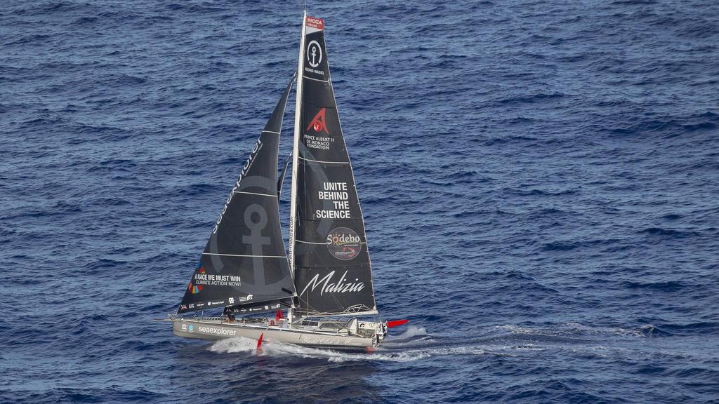 Herrmann und seine Sea Explorer kollidierten kurz vor dem Ziel der Vendée Globe